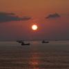 日の出撮影 in 海ほたる