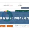 【松井証券の投信工房】運用実績報告(2019年12月7日現在)【やや減少】