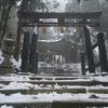 渡月橋から直線距離で6.5kmの初詣 概要編(表参道↑、月輪寺↓)