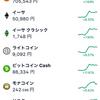 『ビットコイン』の価格が、久しぶりにあがりました(*^-^*)!!