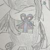 涙するチラチーノと、見つめるタブンネのイラスト