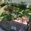 庭への3段ステップ完成です。