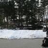飛騨の霊峰 雪の位山