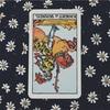 きょうのカード 2017/11/14 ワンド ナイト(逆位置)