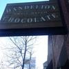 サンフランシスコはチョコで有名なんですって。dandelionに行ってみたよ。
