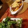 昨日の夕飯、野菜グラタン