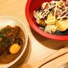 【男の飯】「函館・挽肉カレーと温野菜サラダ」