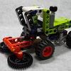 LEGOレゴ42102組替モデル収穫機の組立レビュー