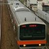 武蔵野線も広幅車体の電車が多くなりましたね