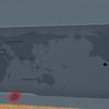 ユーラシア大陸が理由もなく謎にえぐれてる地図を追加した