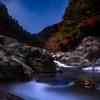 星景サルベージその62 青が流れ出した夜