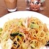 給食☆小松菜とツナの和風スパゲティ☆