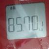 ダイエット日記 4日目 (開始から-0.45キロ)