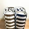 【簡単収納】100円ショップのビニールバッグを使って、毛布を簡単にすっきりと収納。
