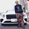 超人気ラッパーの『t-Ace』が、4000万円のベントレーコンチネンタルGTCを納車!