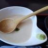 とろろ料理と鮎の甘露煮を食べながら東京時代に飲み明かした夜を思い出したこと