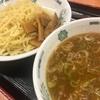 新宿の日高屋でつけ麺♪♪
