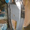 1971 マスタングマッハ1 クォーターポスト表板取付け2