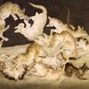 藤田嗣治と猫と女