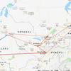 私がトルクメニスタン旅行を断念した理由(3):スタン各国間の航空路線・日数・費用