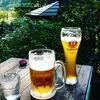 日比谷公園のカフェでクラフトビールの午後@東京