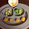 お野菜からの離乳食  [177日目 カボチャきな粉フレンチトースト]
