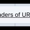 Get Headers of URL