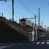 朝のJR東神奈川駅 京急・仲木戸駅
