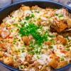 【レシピ】フライパンで簡単♬厚揚げ豚キムチーズ炒め♬