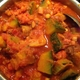 ✴︎南瓜とパティパンスクワッシュと椎茸とひよこ豆のスパイス煮、鰯と玉葱と椎茸とフルーツトマトのスパイス焼き