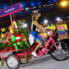【リオ五輪開会式】各国選手団先導の「三輪自転車」が話題に!日本選手団104番目に登場!