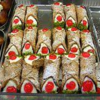 ゴッドファーザーで有名になった、「カンノーロ」イオンのイタリアンフェアで食べたよ!