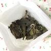 茘枝紅茶(ライチ紅茶)と白牡丹を混合