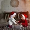 クリスマス前の数日およびその当日における、3歳少女の行動調査に関する報告書。クリスマスとしつけの関係性について。