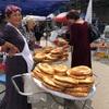 ハズラティヒズルモスクとバザールでお買い物 憧れのウズベキスタン#6
