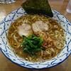 金沢市新保本にあるラーメン屋さん、麺屋夕介でブラックとんこつラーメン。