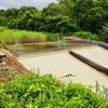中島合浄水場と上郷温水路群(秋田県にかほ)