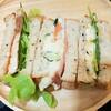 サンドイッチ弁当の記録/My Homemade Boxed Lunch/ข้าวกล่องเบนโตะที่ทำเอง