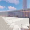 【マイクラ】モダンな美術館を建てる