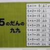 【小学2年生・算数】(13-3)かけ算九九/5の段