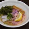 麺や魁星(さきがけぼし)で、貝出汁の涼麺@関内