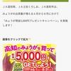 【8/31】高知県産のみょうがを買って現金5,000円をGETしよう!キャンペーン【マーク/はがき*レシ等/web】