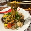 『きのこのえび山』えびくらぶ期間限定麺が超絶美味すぎた件‼️濃厚なえびのソースときのこ達是非食ってみてくれ‼️