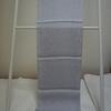 【帯揚げ】銀色の正絹帯揚げ