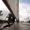 ノーフォークの川をティーゼル号で帆走する (1) 練習開始編