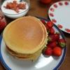 4月8日おからの日【1食111円】こうや豆腐パウダー&おからパウダー配合ホットケーキの自炊レシピ