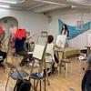 絵画モデル ♪夏の装い無事終了〜(//∇//)