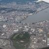 【搭乗記】JAL羽田出雲 国際線機材の767で空から山陰の名所を見る
