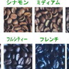 焙煎コーヒー豆の焙煎度