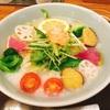 新宿の京王モールにあるおかゆの食べれるお店に初めて行きました(^^)うまーい☆